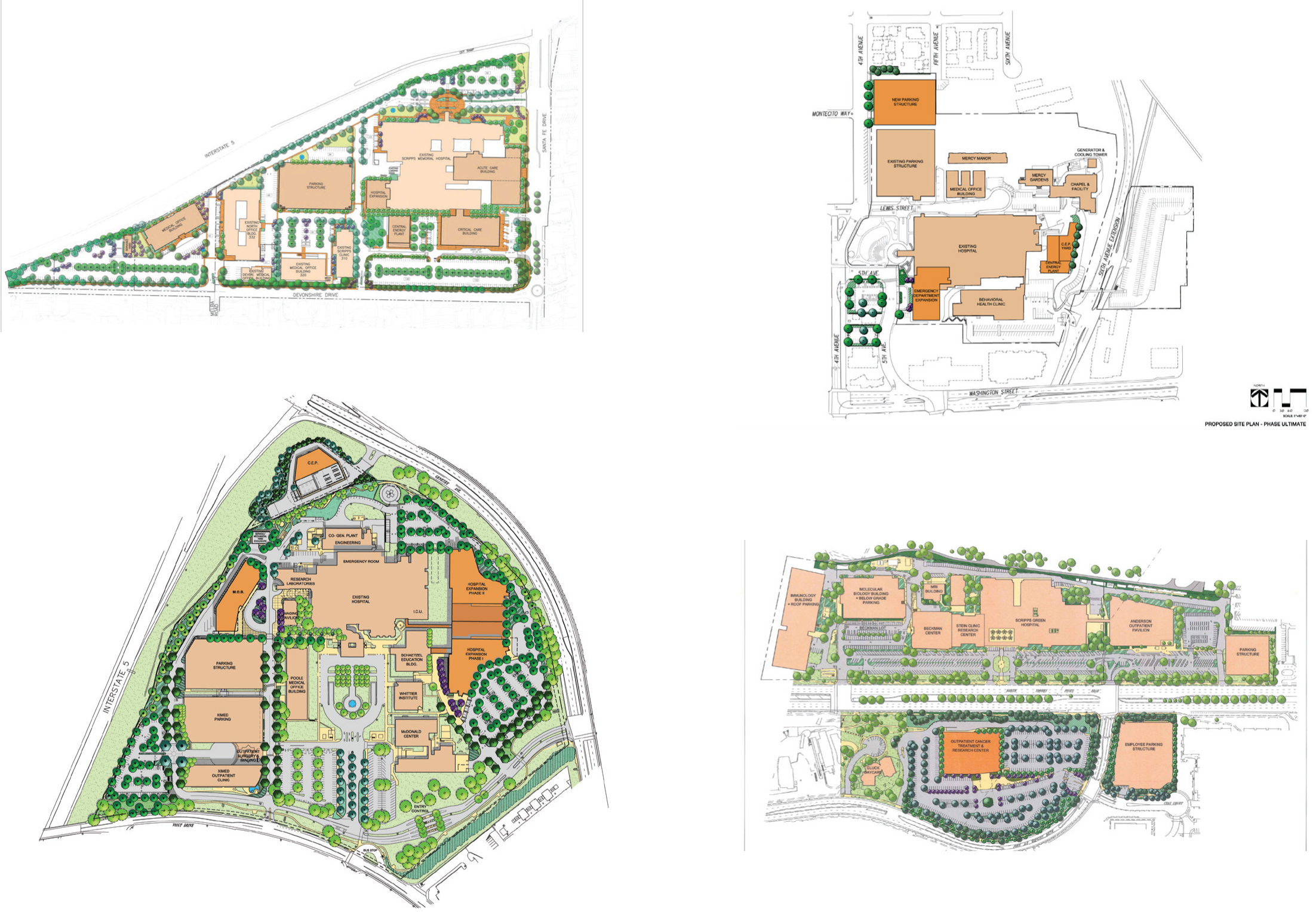 Scripps Master Plan Updates - Mascari Warner Architects
