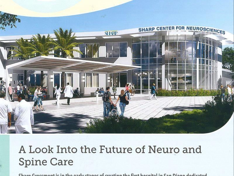 Sharp Grossmont Neuro + Spine Care - Page 1